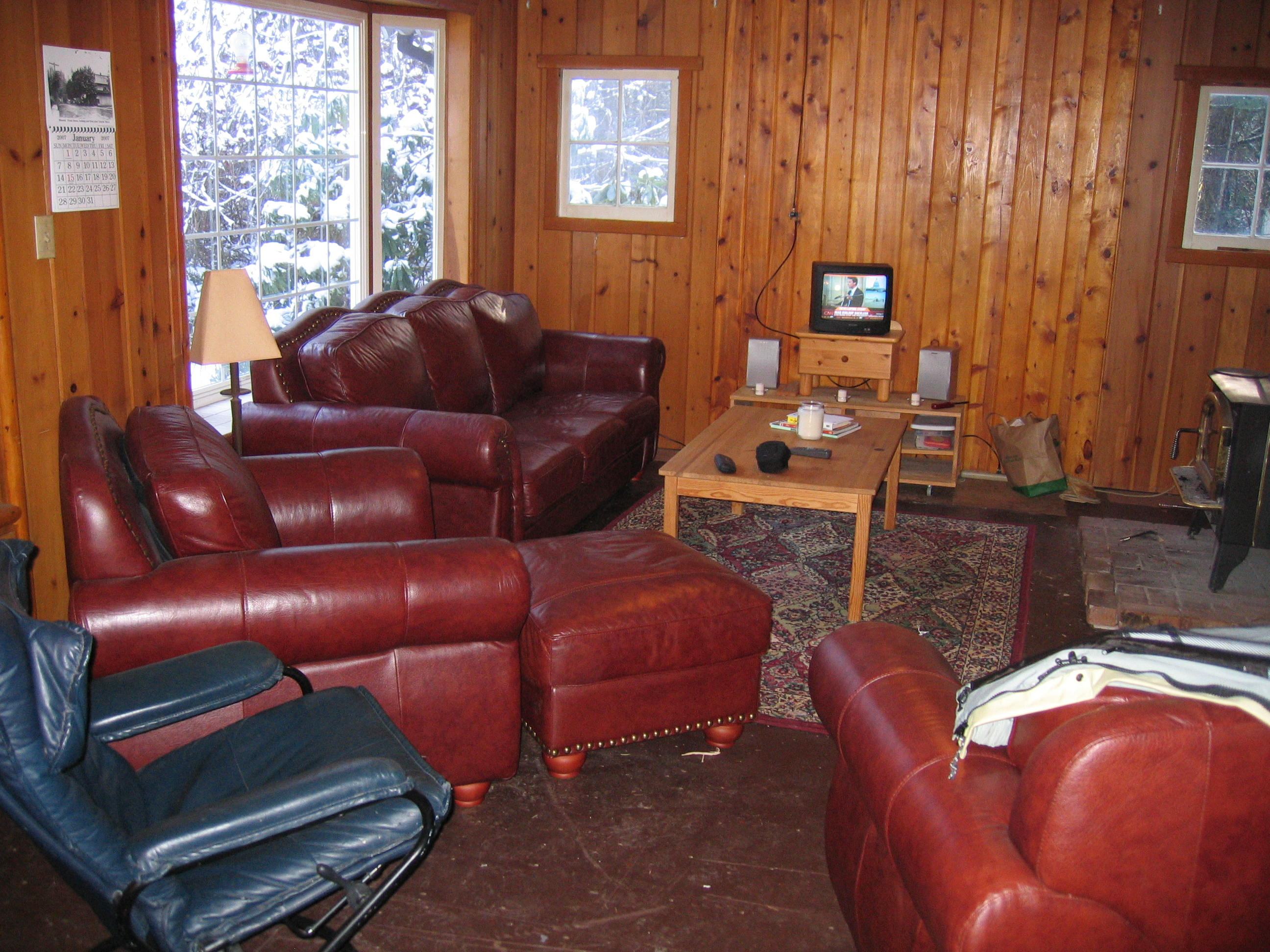 The bear retreat for Living room setup